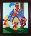 Flute Player giclee by Gary France