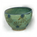 Hand Bowl Stoneware Pottery by Mel Cornshucker