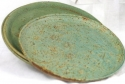 Large Clay Dinner Plate by Mary Lou Davis
